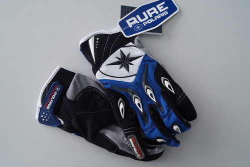 Polaris Racing Gloves Blue